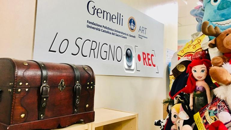 Scrigno REC: una sala hi-tech al Gemelli ART per il digital storytelling<br>Così i pazienti pediatrici condividono le proprie storie ed emozioni
