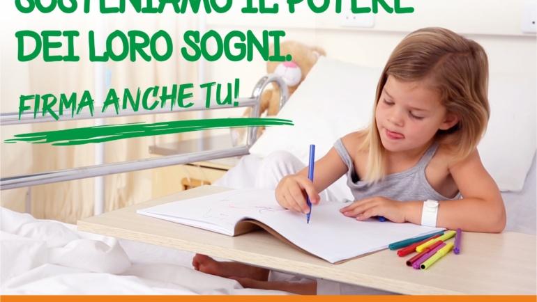 Parte la nuova campagna 5×1000 dell'Associazione Romanini<br/>I fondi destinati a progetti per la radioterapia oncologica pediatrica